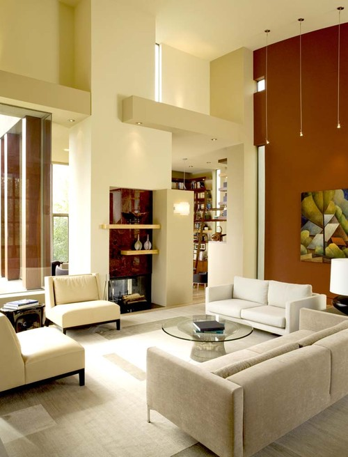 Contemporary Living Room by San Francisco Architects & Building Designers House + House Architects