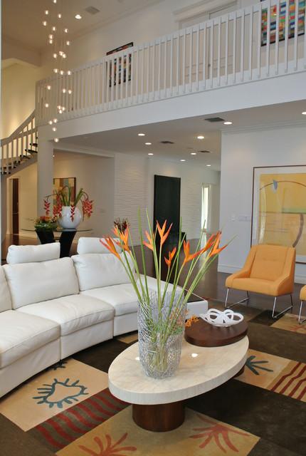 By J Design Group – Living room – Family room - Miami Interior Designers – Moder contemporary living room - http://www.JDesignGroup.com