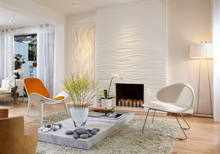 By J Design Group - Panels – Wall Paneling -  Miami Interior Designers – Modern
