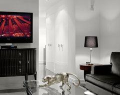 COLE STREET contemporary-living-room