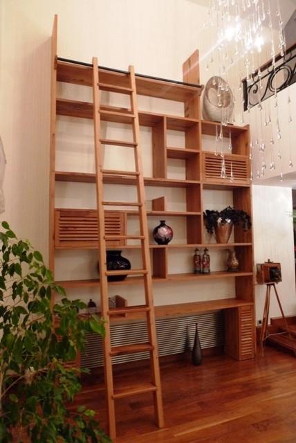 by stok mimarlık contemporary-living-room