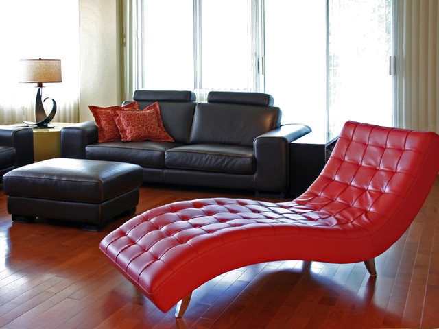 by Sylvie Lalonde Design contemporary-living-room
