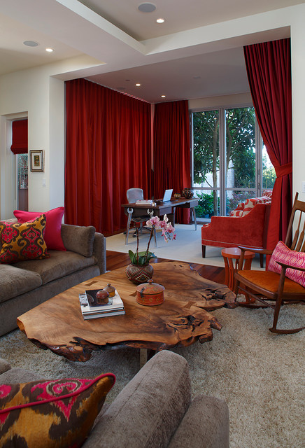 By the bay - Eclectic - Living Room - San Francisco - by Artistic Designs for Living, Tineke Triggs