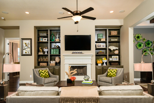 Caballo Ranch - The Zoeller contemporary-living-room