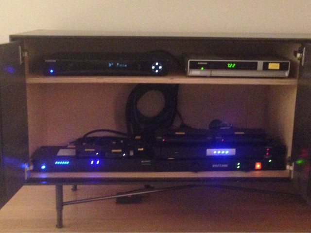 Cabinet Main Equipment - Modern - Living Room - new york - by Audio Video Central Corp.