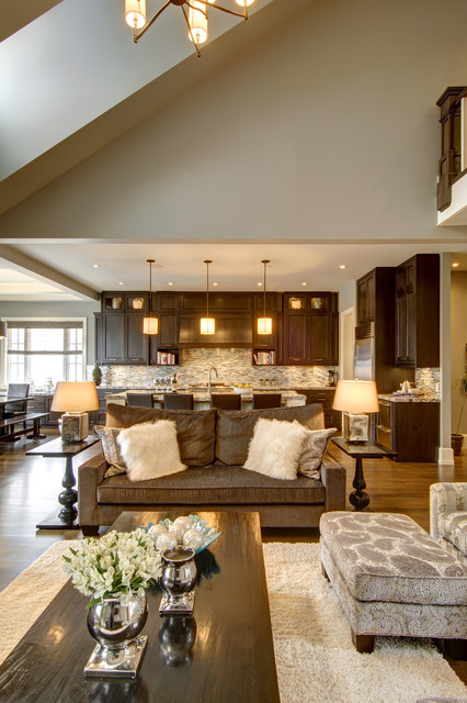 Calgary 39 S Country Chic Living Traditional Living Room Calgary By Rockwood Custom Homes