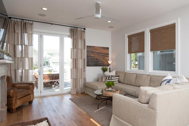 california cape cod beach style living room