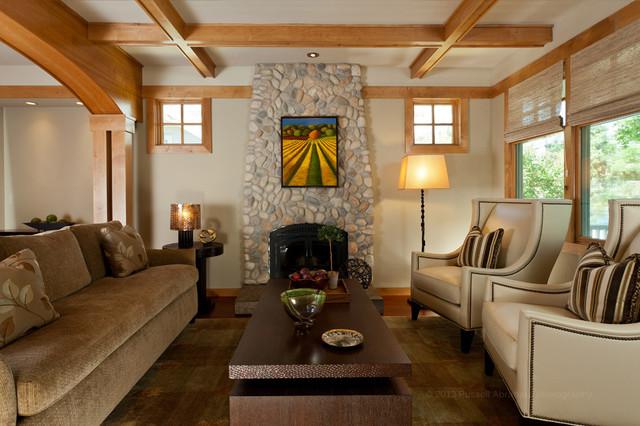 California contemporary craftsman craftsman living for California interior style