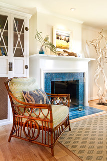 California Cottage - Beach Style - Living Room - los angeles - by Charmean Neithart Interiors, LLC.
