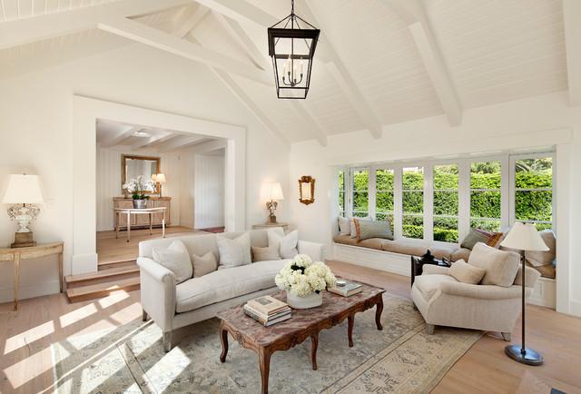 California Cottage Farmhouse Living Room Santa Barbara By Giffin Crane General