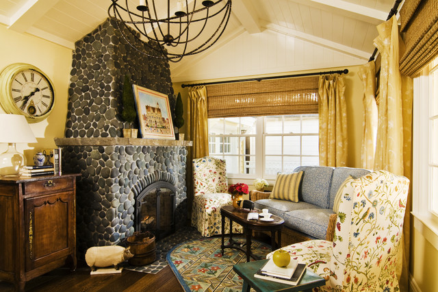 California Cottage Traditional Living Room San Francisco By Jana Happel Interior Design