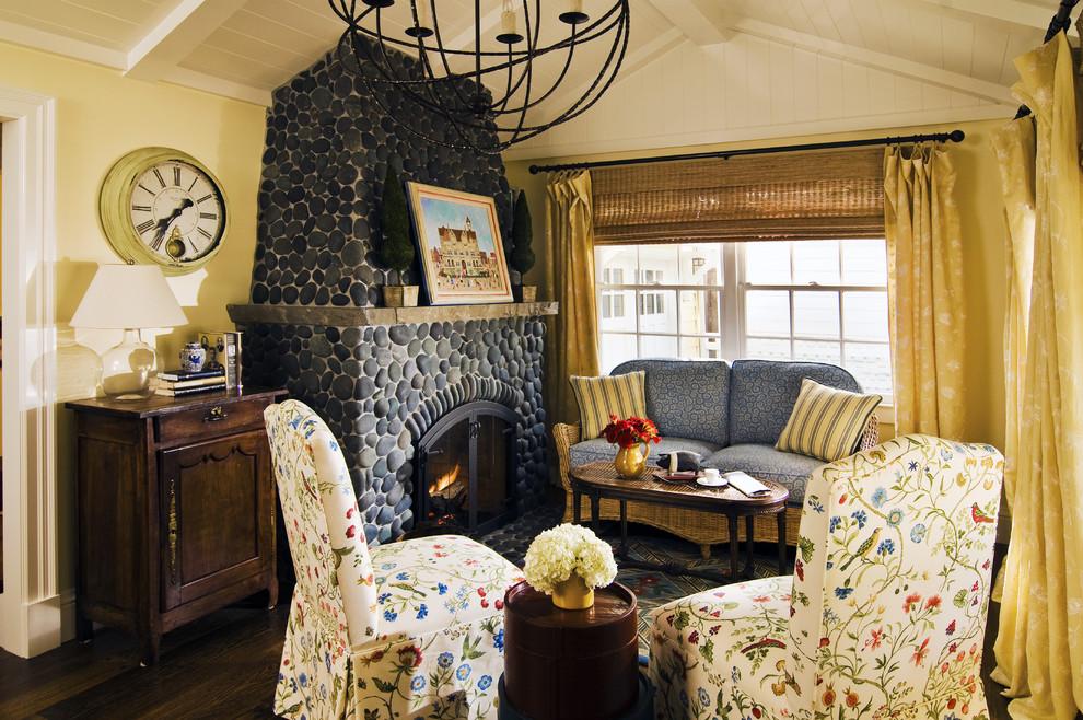 Elegant living room photo in San Francisco