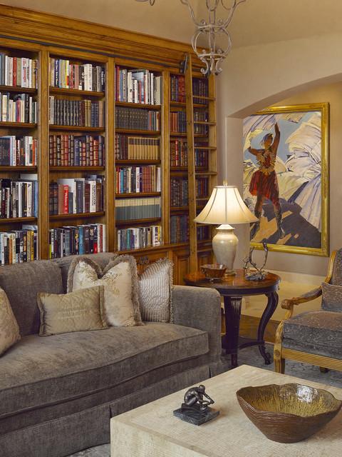 California Maison traditional-living-room