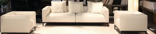 California Sofa & California Armchairs contemporary-living-room