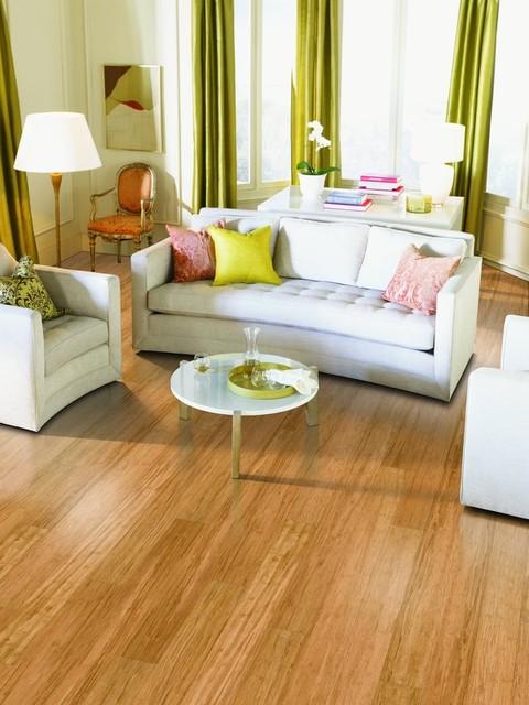 Calm Contemporary Living Space contemporary-living-room