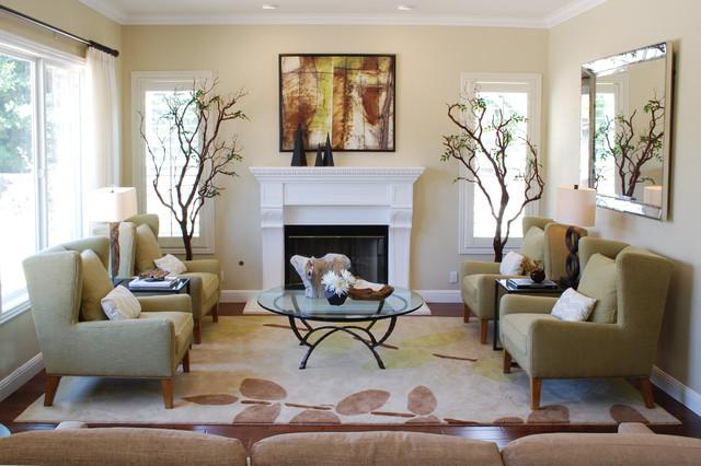 Camarillo Toll Brothers Transitional Living Room Los Angeles By Jolana Knupp Interior Design