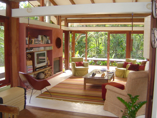 tropical living room by Max Gosslar