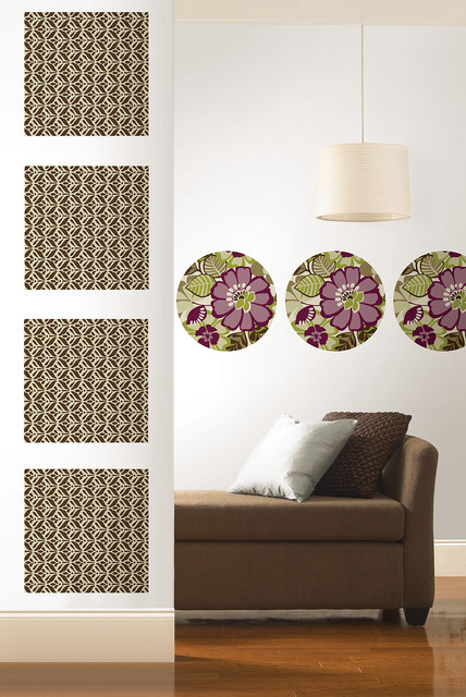 Cameroon by WallPops Available in Dots, Blox and Stripes living-room