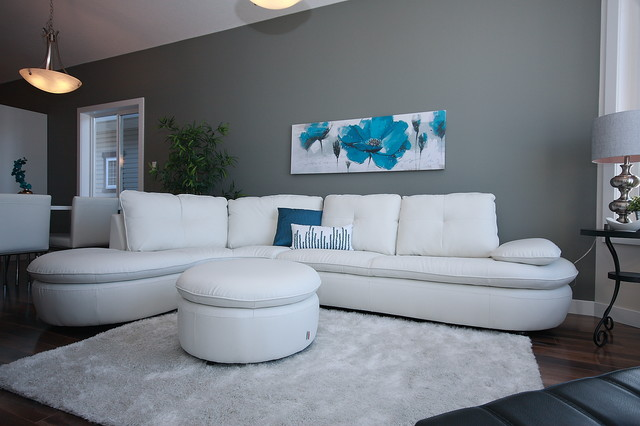 Camrose Alberta Home For Sale contemporary-living-room