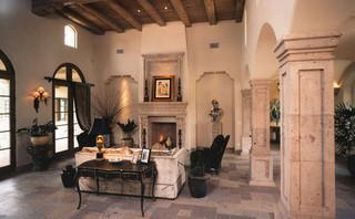 CANDELARIA mediterranean living room