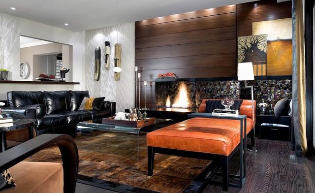 Candice olson design contemporary living room for Divine interior designs