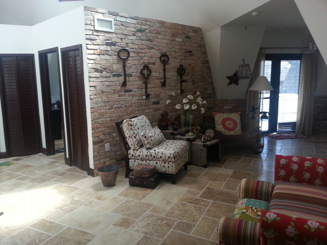 Cantarrana Ranch Tropical Living Room Miami By Teicon Group Inc