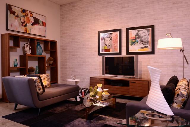 Cantoni Houston Showroom Modern Living Room Houston