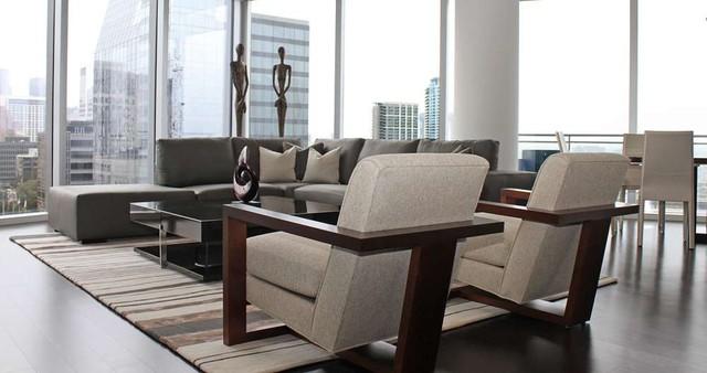 Cantoni Josh And Elizabeth Contemporary Living Room