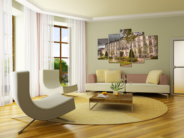 Canvas Prints modern living room