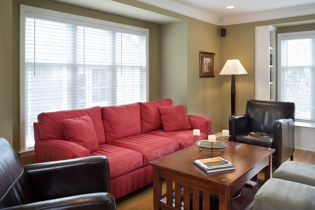 Cape Cod Addition Family Room Traditional Living Room