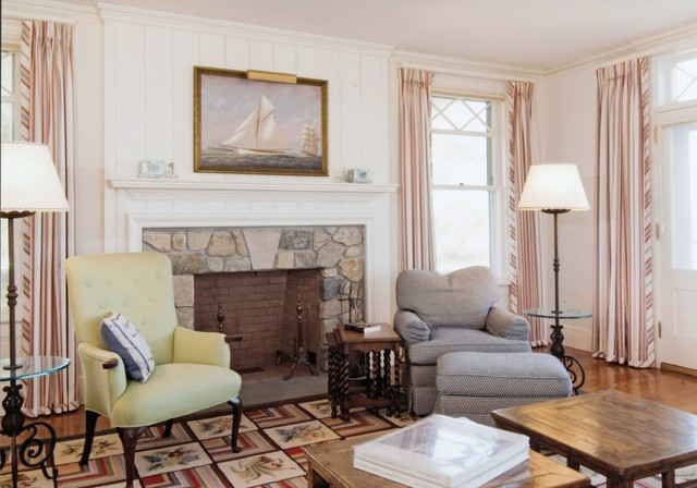 Cape Cod Compound Beach Style Living Room Boston By Judge