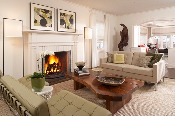 Beautiful Cape Cod Living Room Modern Living Room