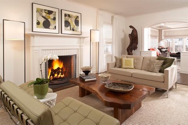 Cape Cod Living Room modern-living-room
