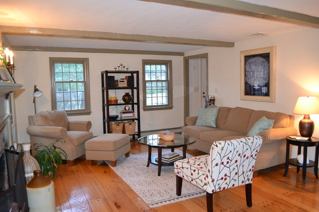 Cape Cod Living Room Traditional Living Room Boston By