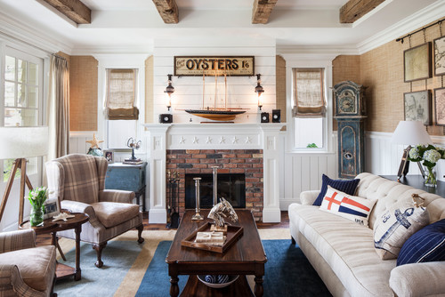 Coastal Interior Design Nautical Style