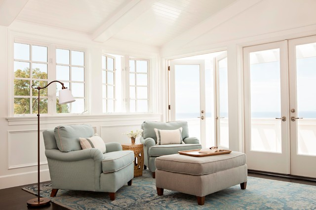 Cape Cod Style In Laguna Beach, CA   Beach Style   Living Room . Part 75