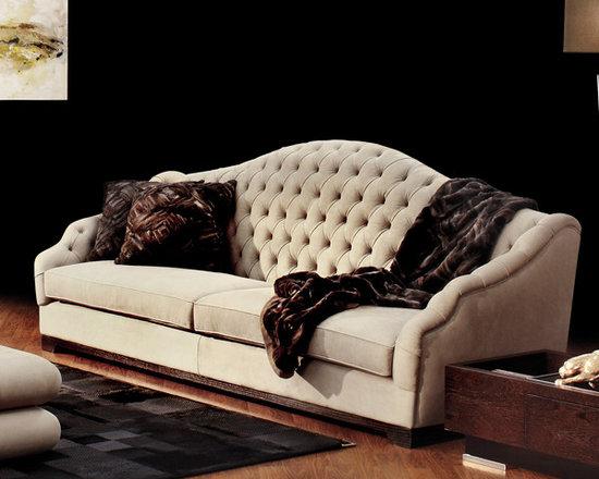 Capital Decor - Kind Of People - Hardwood frame, variable density polyfiber, wooden feet. Tufted finish.