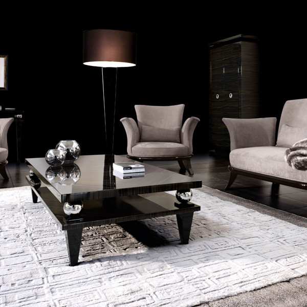 Houzz Black Coffee Table: Korp Coffee Table