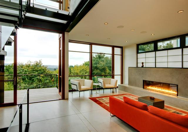 Capitol Hill modern-living-room