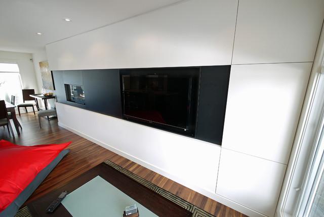 Capitol Hill Renovation contemporary-living-room