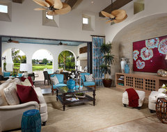 Capriano at Mediterra tropical-living-room
