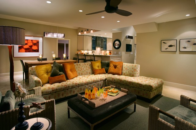 Captiva-Living Room & Dining Room contemporary-living-room