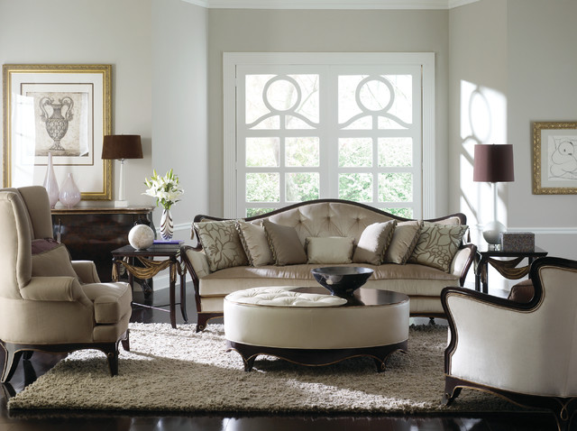 Transitional Living Room Furniture : Caracole at Castle Furniture - Transitional - Living Room ...