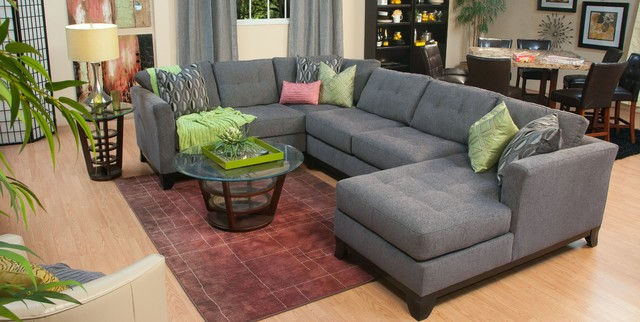 Cardiff Living Space - Traditional - Living Room - San Diego - by ...