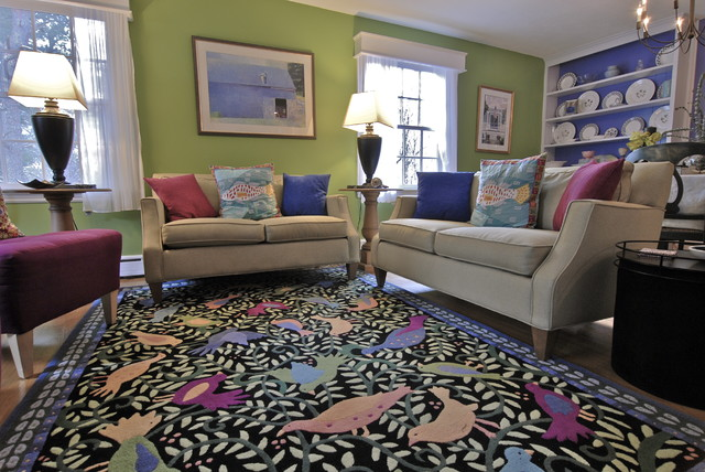 carey - wenham, ma eclectic-living-room