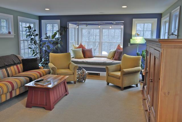 Idee per un soggiorno eclettico