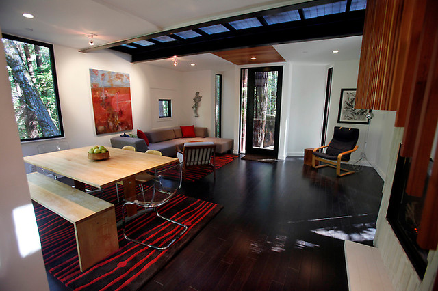Cargo Container Modern Living Room San Francisco