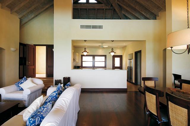 Caribbean Island tropical-living-room