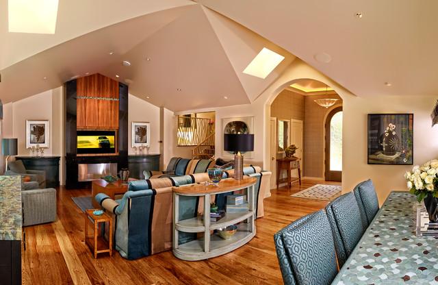 Carmel Home contemporary-living-room