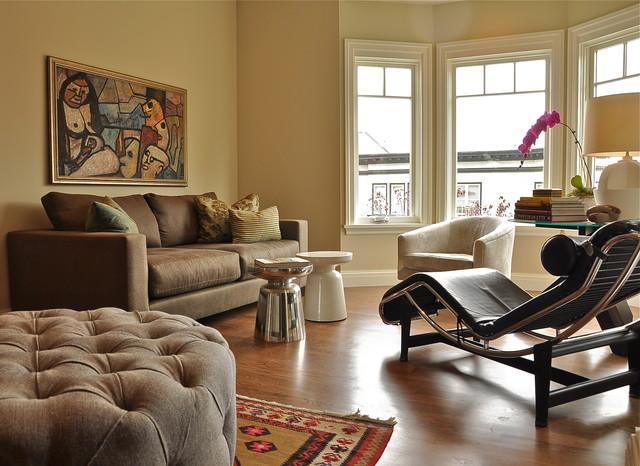 Carmel Residence contemporary-living-room